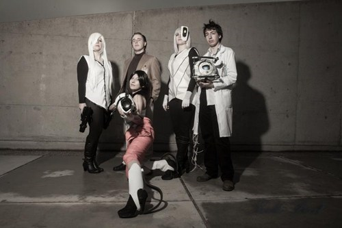 cosplay,Portal,video games,portal 2