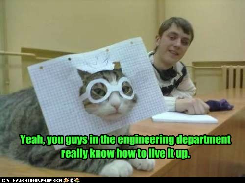 boring engineering captions paper Party Cats dull college graph