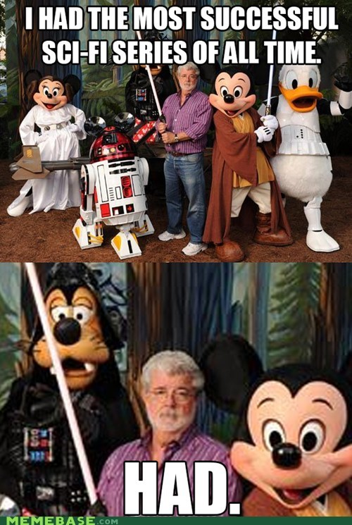 george lucas disney star wars had - 6722662144