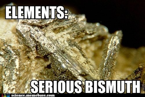pun,element,bismuth