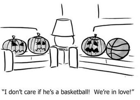 basketball,pumpkins,dating