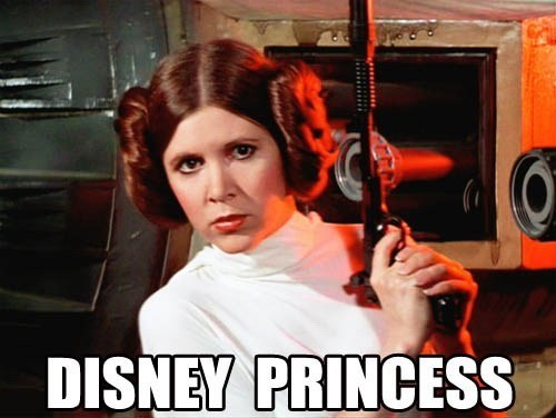 star wars disney princesses Princess Leia