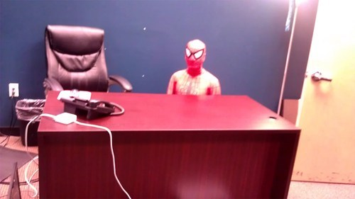 poorly dressed halloween Spider-Man halloween costume spiderman costume