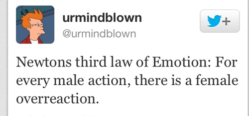 mind blown Newton overreaction emotion - 6723198208