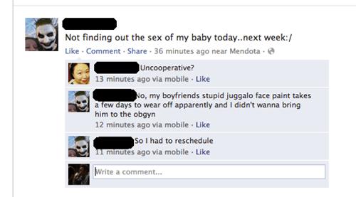 pregnant juggalo - 6723233536