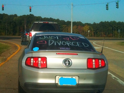 Just Divorced congratulations celebrating - 6723259136