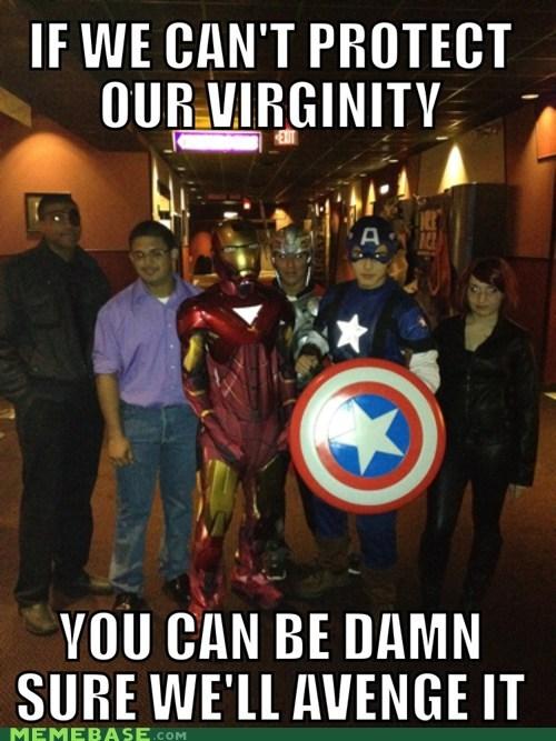 costume virgins avengers - 6723311104