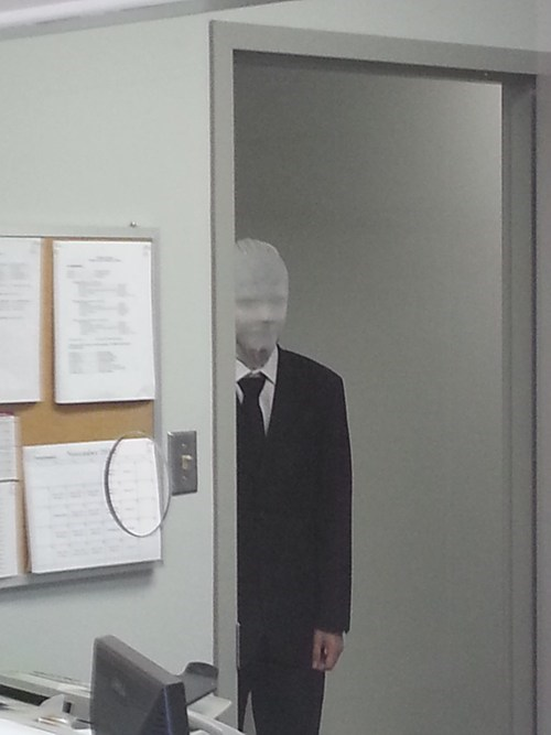bill lumbergh Office Space slender man monday thru friday - 6723337472
