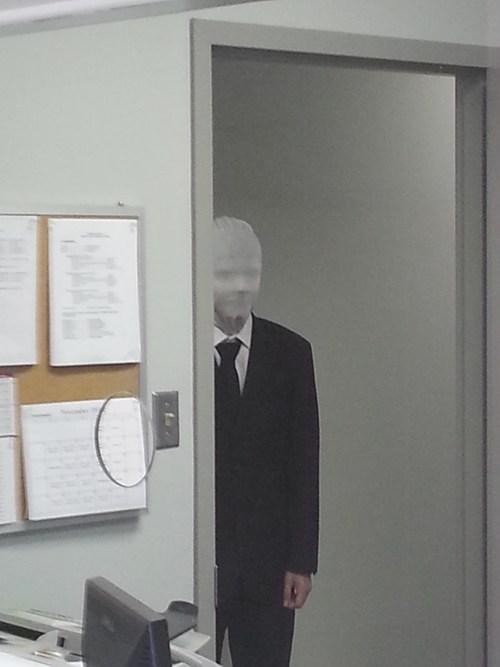 bill lumbergh Office Space slender man monday thru friday - 6723337472