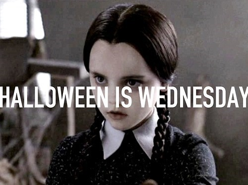 halloween literalism wednesday wednesday addams double meaning - 6723353344