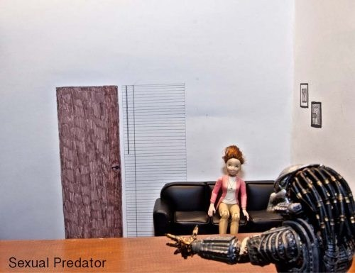 brazzers Predator literalism sexual predator meme double meaning - 6723357440