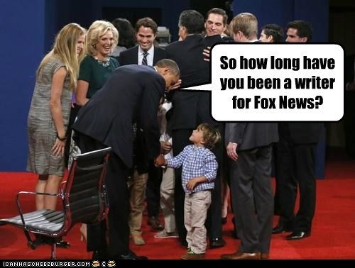 So how long have you been a writer for Fox News?