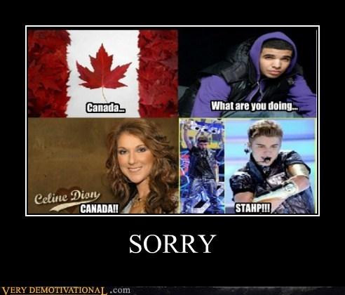 Canada,stahp,justin bieber