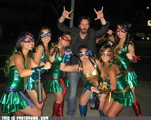 when-did-this-happen keanu reeves TMNT halloween - 6723557376