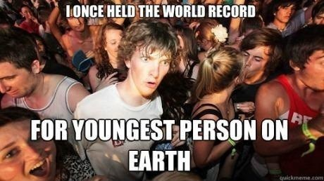 youngest person,world record