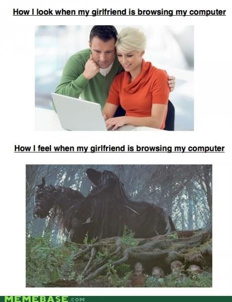 history internet Nazgul girlfriend dating