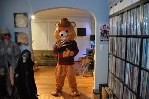 halloween costumes,freddy kreuger,pedobear
