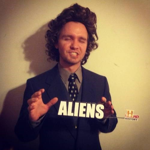 halloween ancient aliens costume hallowmeme - 6724172288