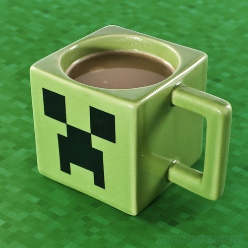 design nerdgasm minecraft video games mug - 6724272128