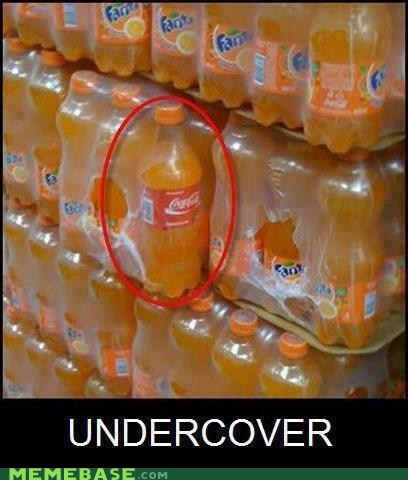 drinks,secret,fanta,coke,undercover