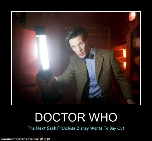 DOCTOR WHO The Next Geek Franchise Disney Wants To Buy Out