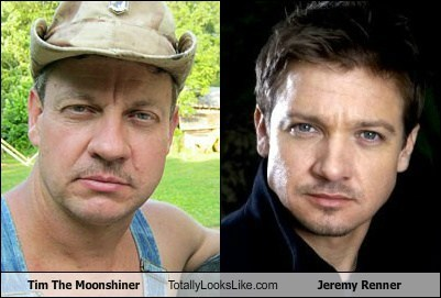 actor TLL tim the moonshiner Jeremy renner celeb funny - 6724608512