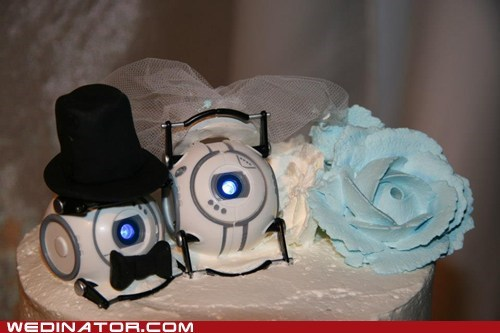cake core topper Wheatley Portal - 6724641024