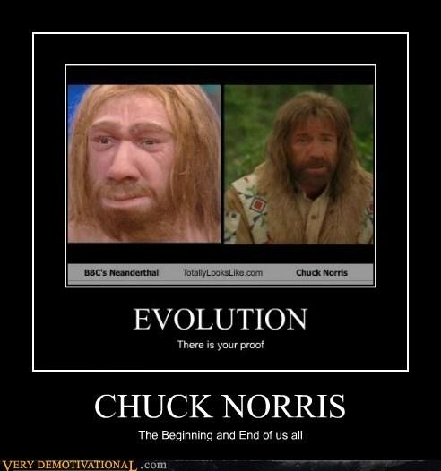 beginning end chuck norris neanderthal - 6724746496