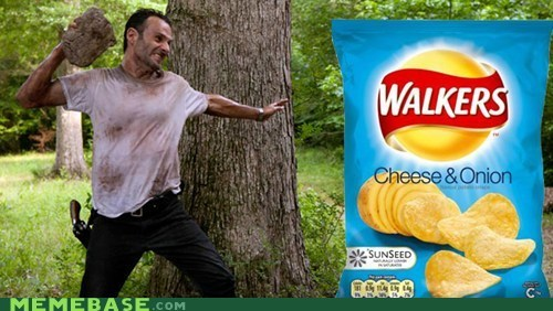 chips,walkers,Lays,lolwut,the walking dead?,The Walking Dead