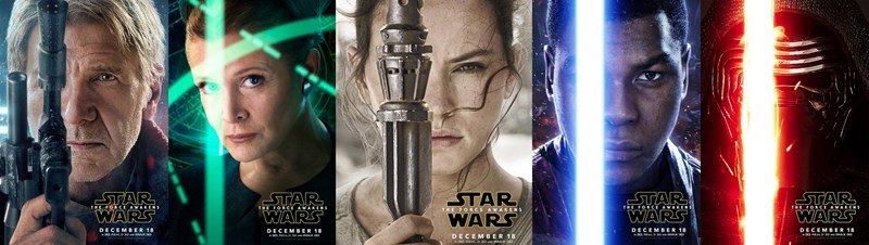 star wars,list,movies,posters,star wars vii