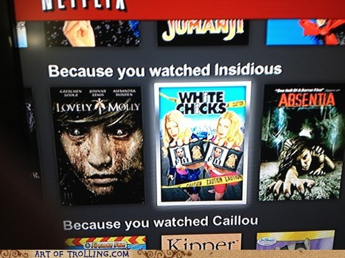 wtf,white chicks,netflix,insidious
