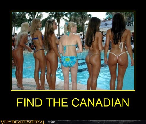 Sexy Ladies,Canada,pale,tan,swimsuit