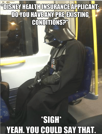disney star wars funny darth vader - 6725657344