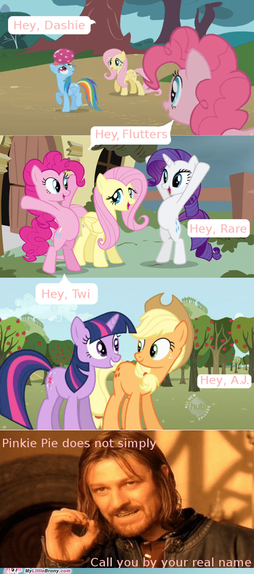 quirks one does not simply pinkie pie