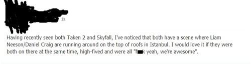 Daniel Craig,liam neeson,istanbul,taken 2,james bond,skyfall,007