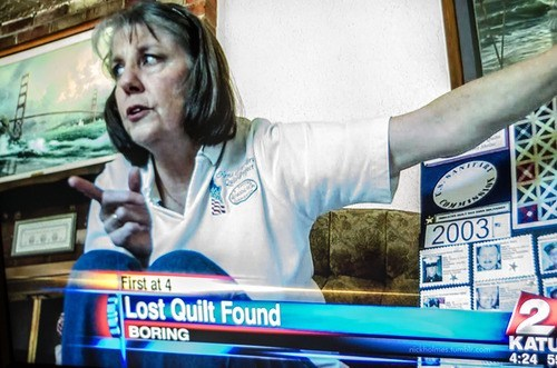 boring news headline portland murders burglaries lost quilt found