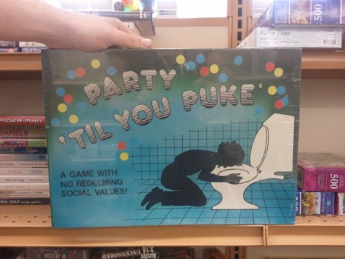 board games PARTY TIL YOU PUKE no redeeming social values - 6726063104