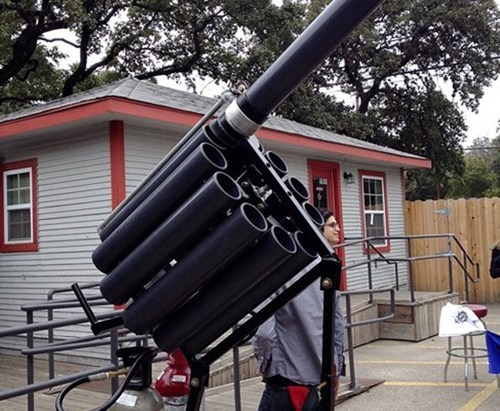 Austin fun fun fun fest taco taco cannon torchy's tacos win g rated there I fixed it - 6726079488