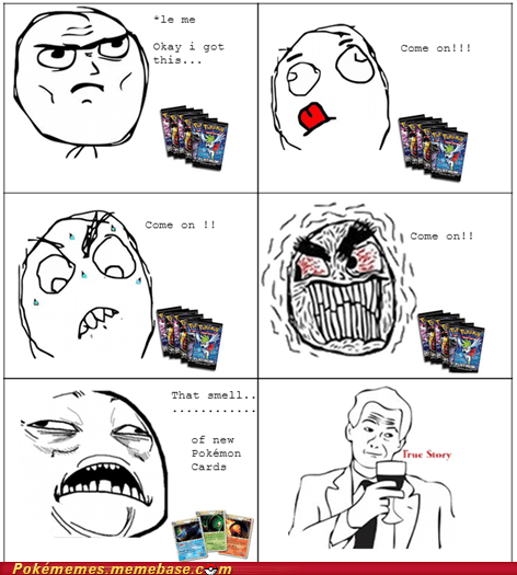 smell new card gimme gimme gimme pokemon cards rage comic