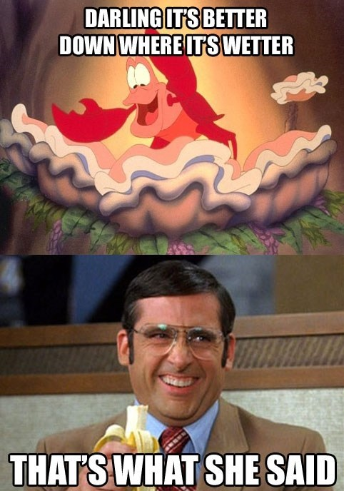 disney Movie actor steve carell celeb The Little Mermaid funny - 6726164736