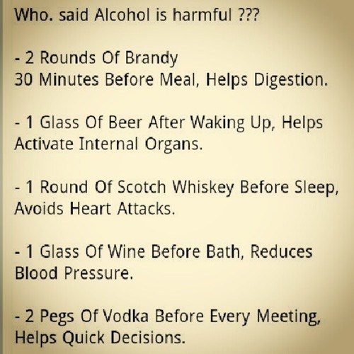 brandy,beer,scotch,wine,vodka,harmful,does the body good