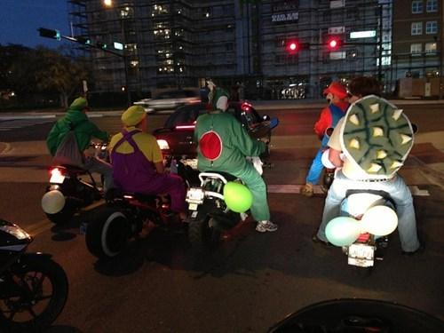 halloween costumes,Mario Kart