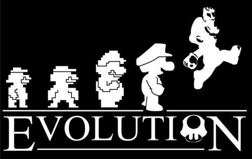 evolution,mario,nintendo