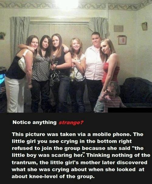 wtf ghost little boy when you see it - 6726632192