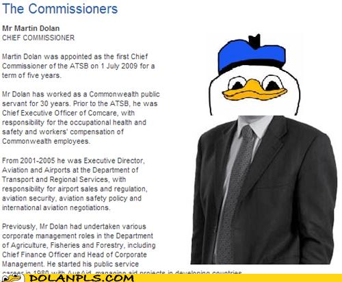 commissioner,martin dolan