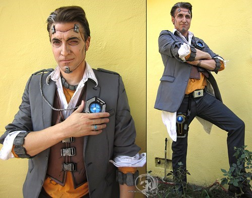 handsome jack cosplay borderlands 2 video games - 6726881792