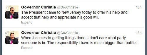 hurricane responsibility Chris Christie Governor politics New Jersey - 6726924032
