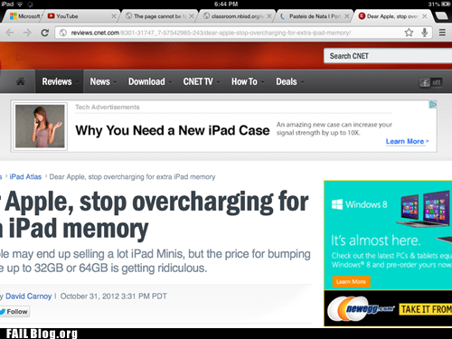 advertisement Ad ipad ad placement juxtaposition apple - 6727073792