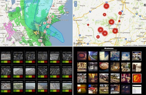 crisis hurricane sandy relief map project crowdsourcing