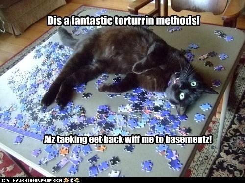 Dis a fantastic torturrin methods! Aiz taeking eet back wiff me to basementz!